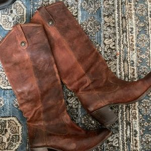 Vintage Frye genuine leather boots